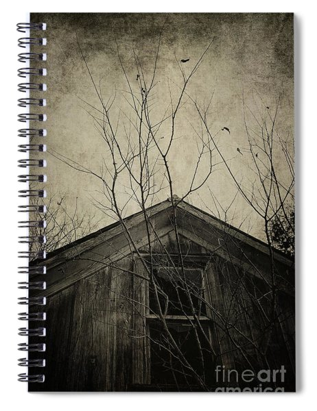 Into The Dark Past Spiral Notebook