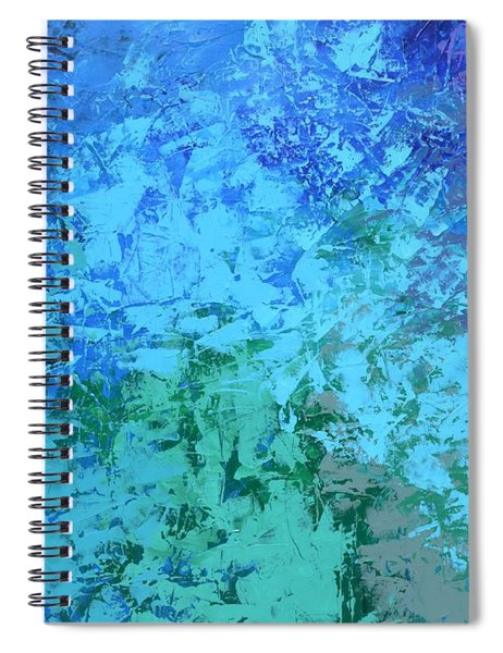 Into The Deep Blue Sea Spiral Notebook