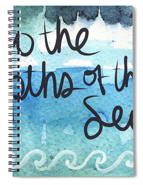 Into The Depths Of The Sea Spiral Notebook