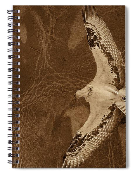 Into The Journey Spiral Notebook