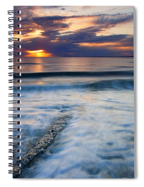 Into The Sea Spiral Notebook
