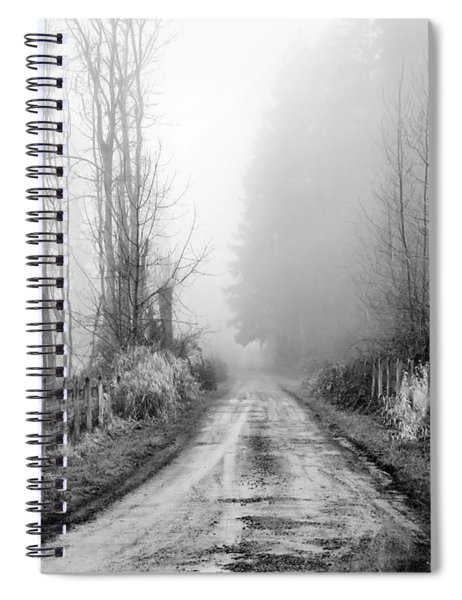 Into The Unknown Spiral Notebook
