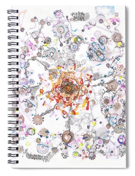 Intracellular Diversion Spiral Notebook