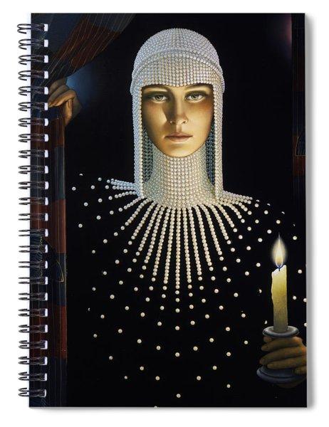 Intrigue Spiral Notebook