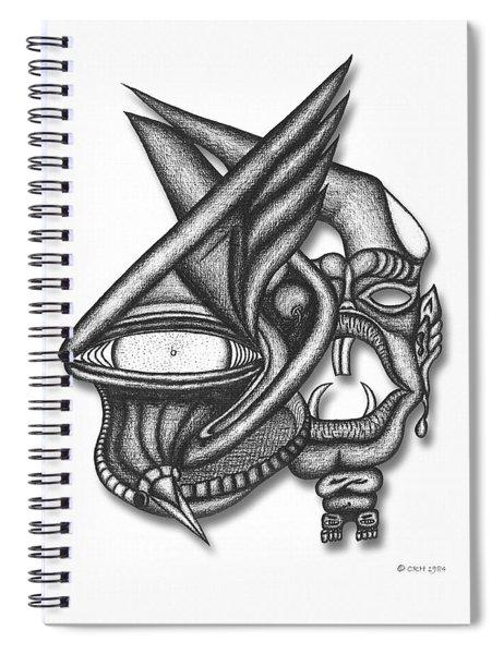 Ion Tiki Spiral Notebook