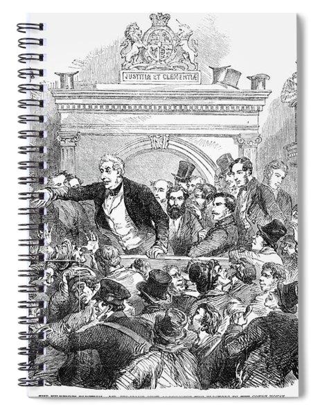 Ireland Election, 1857 Spiral Notebook