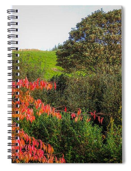 Irish Autumn Countryside Spiral Notebook