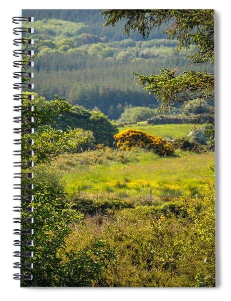 Irish Countryside In Spring Spiral Notebook