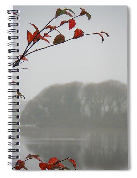 Irish Crannog In The Mist Spiral Notebook