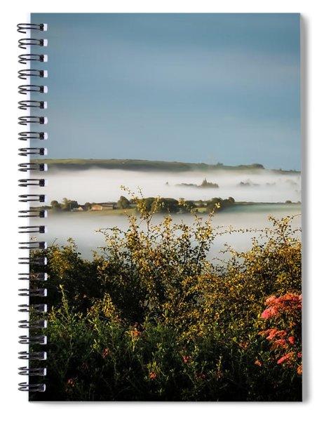 Irish Mist Over Lissycasey Spiral Notebook
