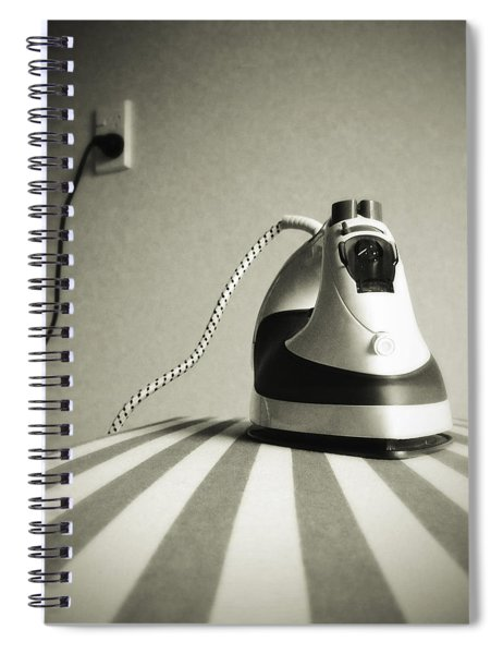 Iron Spiral Notebook