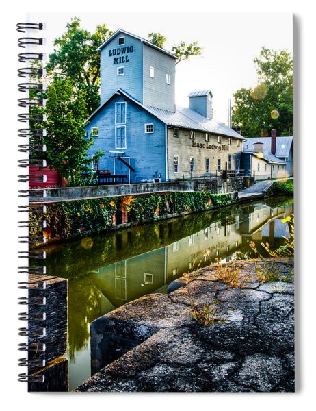 Isaac Ludwig Mill Spiral Notebook