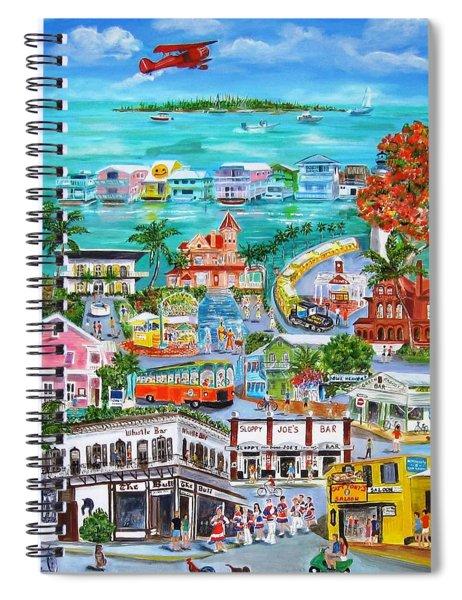 Island Daze Spiral Notebook