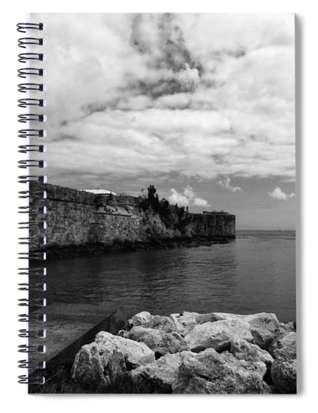 Island Fortress  Spiral Notebook