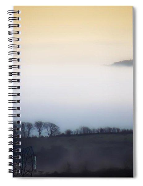 Island In The Irish Mist Spiral Notebook
