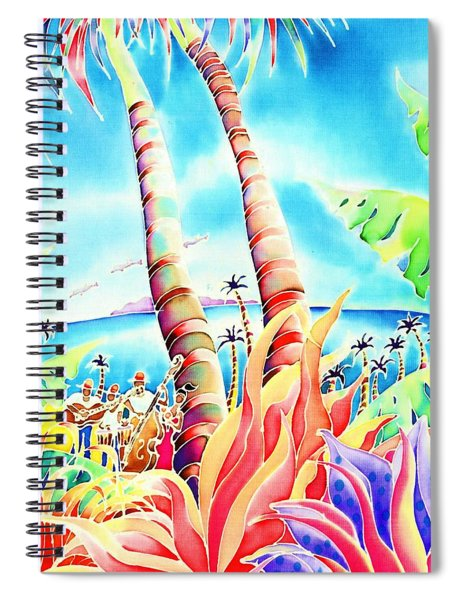 Island Of Music Spiral Notebook