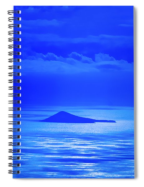 Island Of Yesterday Spiral Notebook