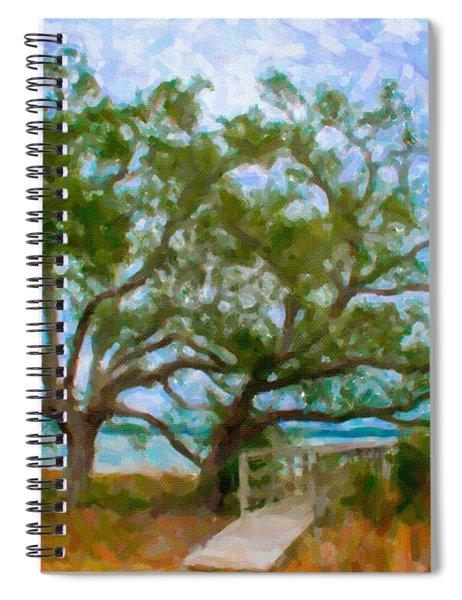 Island Time On Daniel Island Spiral Notebook