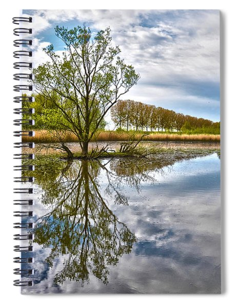 Island Tree Spiral Notebook