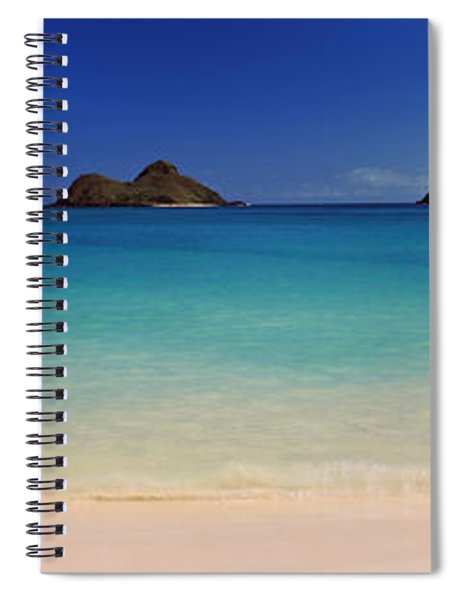 Islands In The Pacific Ocean, Lanikai Spiral Notebook