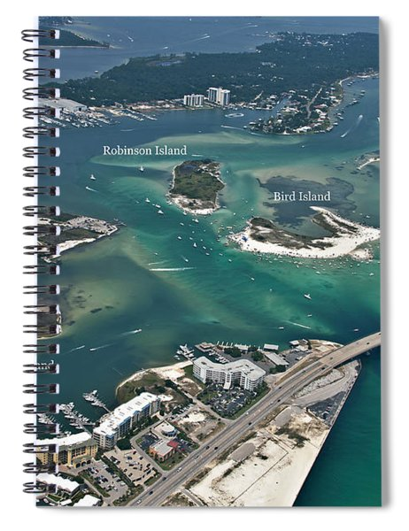 Islands Of Perdido - Labeled Spiral Notebook