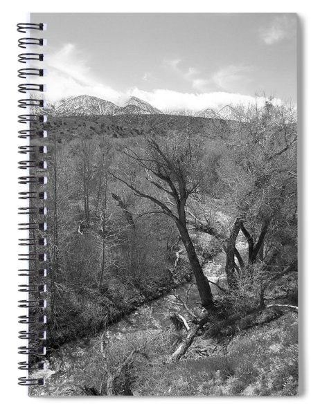 It Flows From The Source - California Spiral Notebook