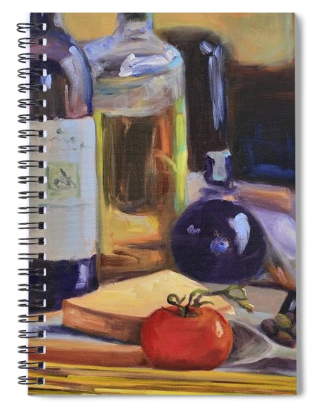 Italian Kitchen Spiral Notebook