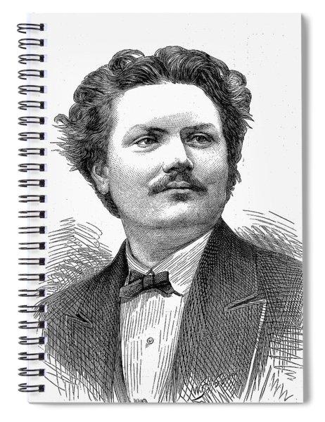 Italo Campanini (1845-1896) Spiral Notebook