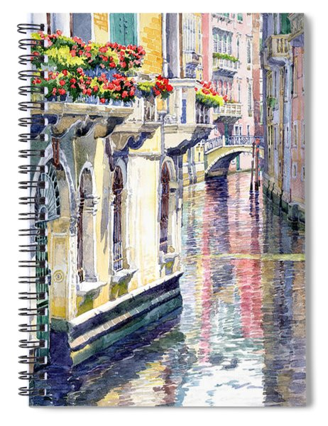 Italy Venice Midday Spiral Notebook