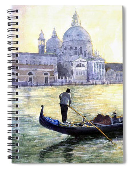 Italy Venice Morning Spiral Notebook