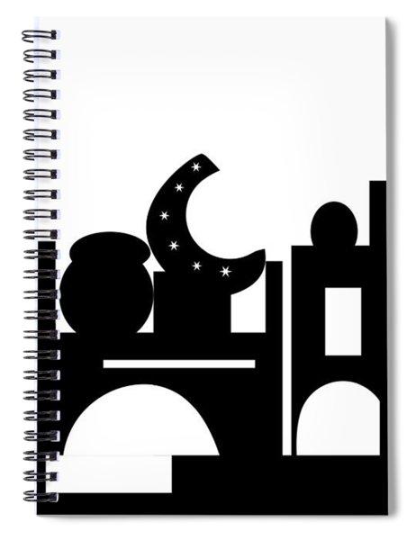 Its Bazaar Spiral Notebook