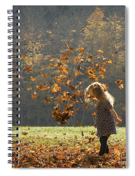 It's Raining Leaves Spiral Notebook