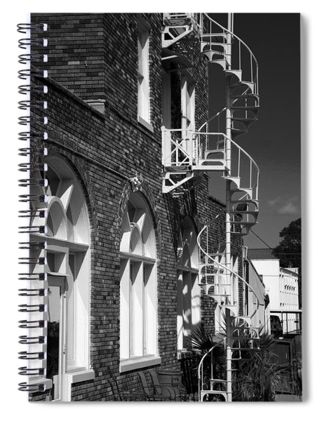 Jacaranda Hotel Fire Escape Spiral Notebook