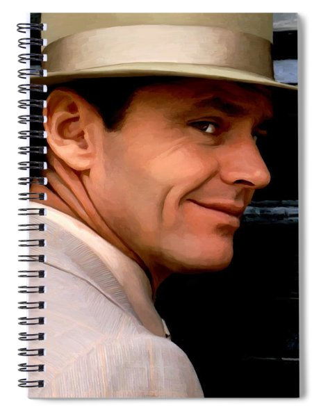 Jack Nicholson @ China Town Spiral Notebook