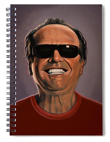 Jack Nicholson 2 Spiral Notebook