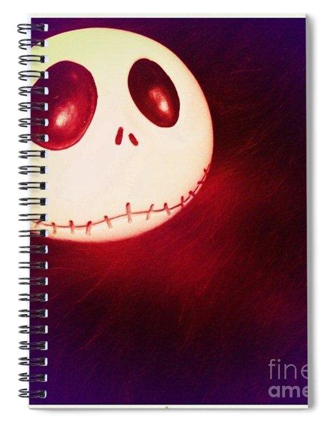 Jack Skellington Glowing Spiral Notebook