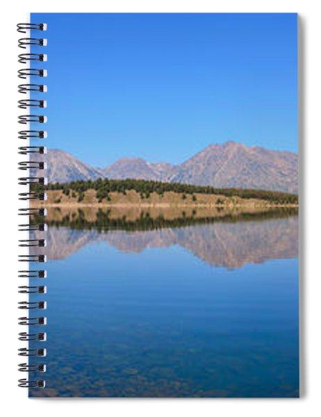 Jackson Lake Reflections Spiral Notebook