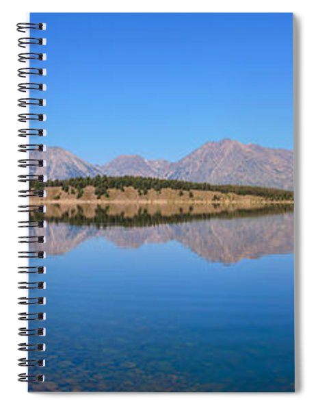 Jackson Lake Reflections Spiral Notebook