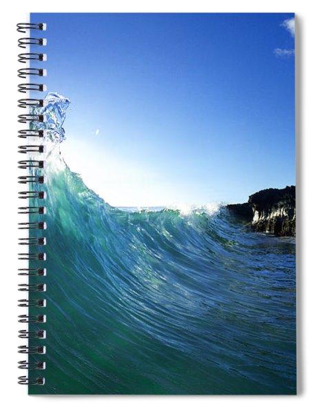 Jade Crystal Spiral Notebook