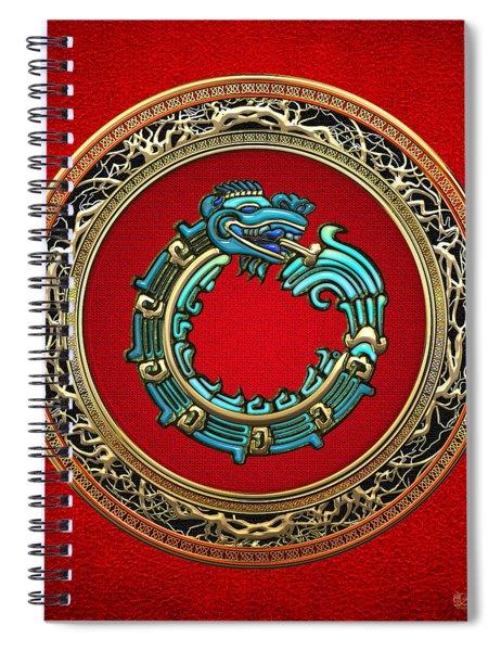 Jade Serpent God Quetzalcoatl  Spiral Notebook