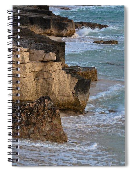 Jagged Shore Spiral Notebook