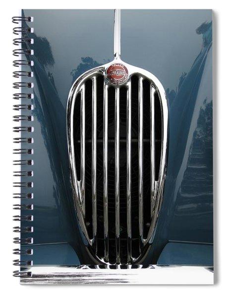 Jaguar Grille Spiral Notebook