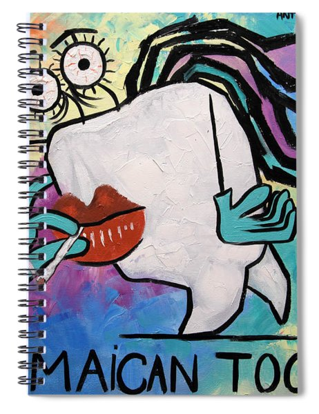 Jamaican Tooth Spiral Notebook
