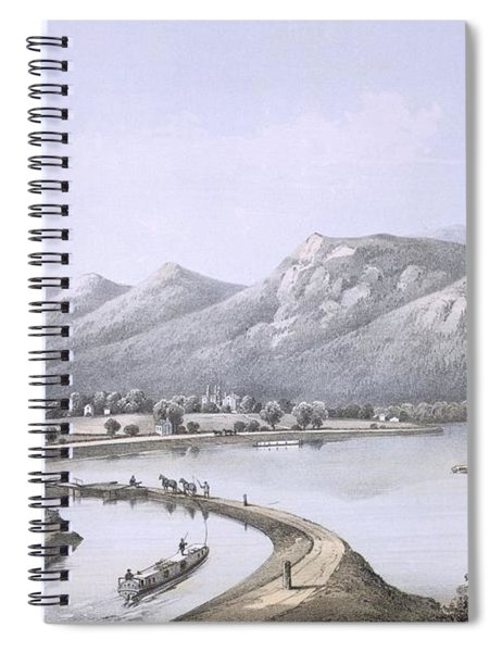 James River Canal Near The Mouth Spiral Notebook