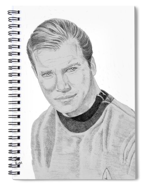James Tiberius Kirk Spiral Notebook