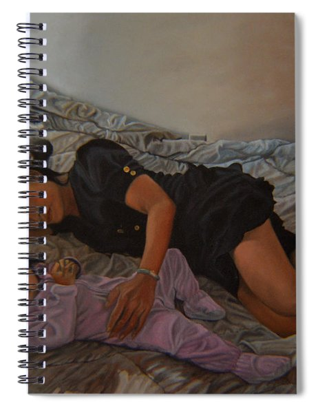 January Afternoon Mukilteo Washington Spiral Notebook