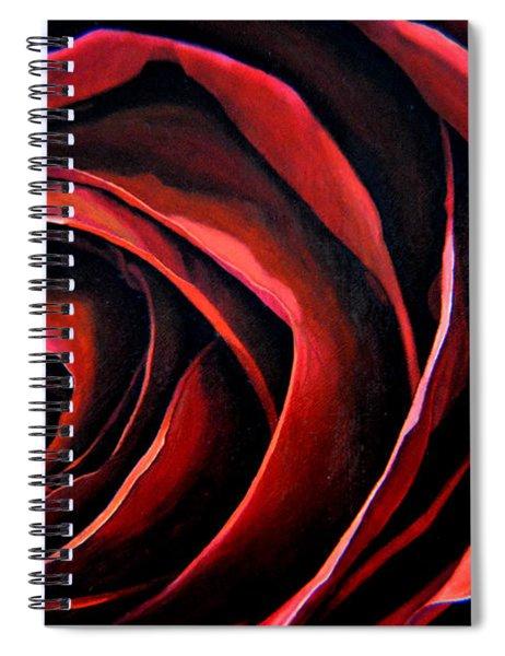 January Rose Spiral Notebook