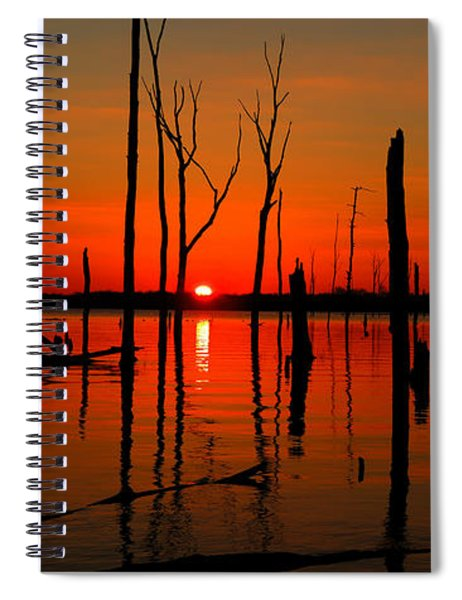 January Sunrise Spiral Notebook