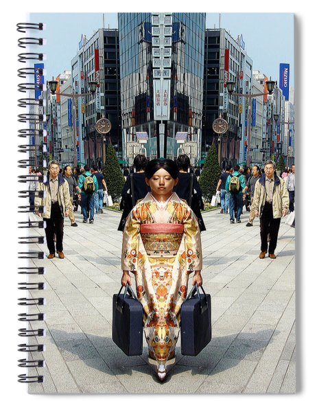 Japan Double Vision #56 Spiral Notebook