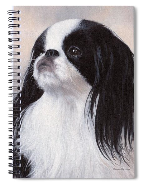 Japanese Chin Painting Spiral Notebook